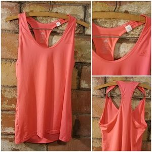 Adidas Coral Workout Tank Top EUC